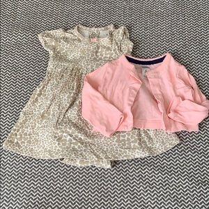 Carter's heart dress 6mo